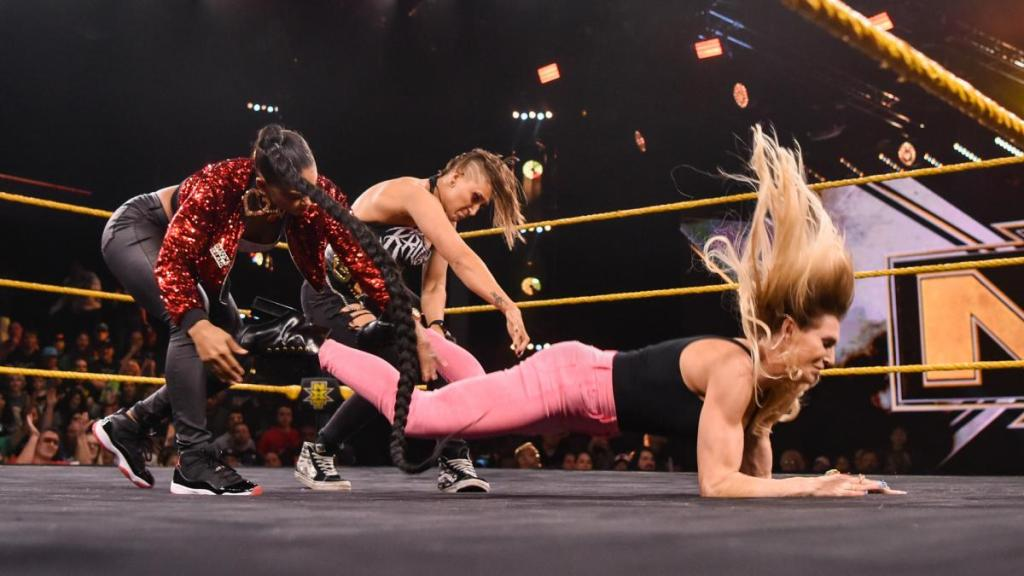 NXT: Four Horsewomen Renew Their Rivalry with Bianca